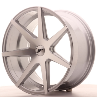 JR20 10x20 5x100 ET20-40 SILVER MACHINED