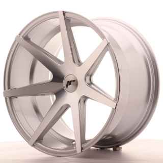 JR20 11x20 5x100 ET20-30 SILVER MACHINED