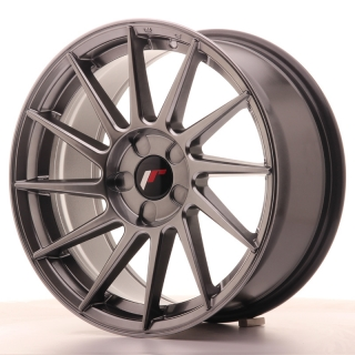 JR22 8x17 5x100 ET35 HYPER BLACK