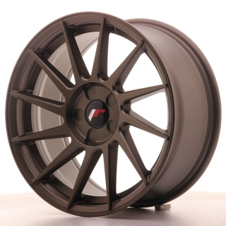 JR22 8x17 5H BLANK ET35 MATT BRONZE