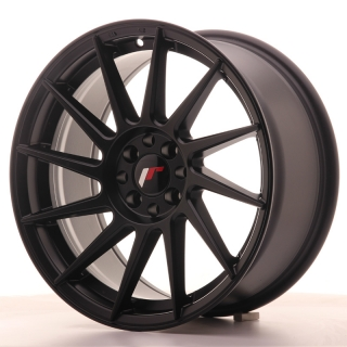 JR22 8x17 4x100/108 ET25 MATT BLACK