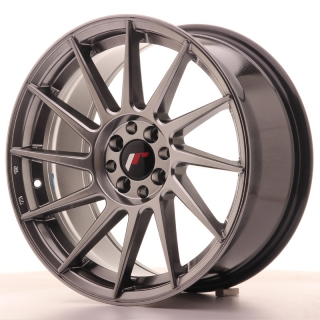 JR22 8x17 4x100/108 ET25 HYPER BLACK
