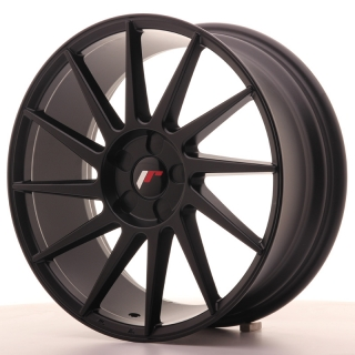 JR22 7,5x18 5H BLANK ET35-40 MATT BLACK