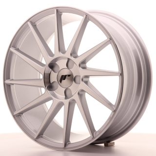 JR22 7,5x18 5H BLANK ET35-40 SILVER MACHINED