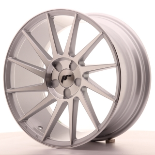 JR22 8,5x18 5H BLANK ET40 SILVER MACHINED