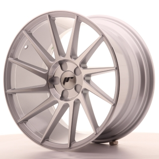 JR22 9,5x18 5H BLANK ET40 SILVER MACHINED