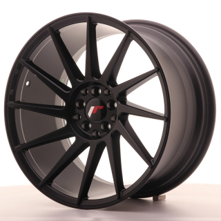 JR22 9,5x18 5x112/114,3 ET40 MATT BLACK