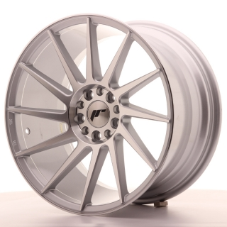 JR22 9,5x18 5x112/114,3 ET40 SILVER MACHINED