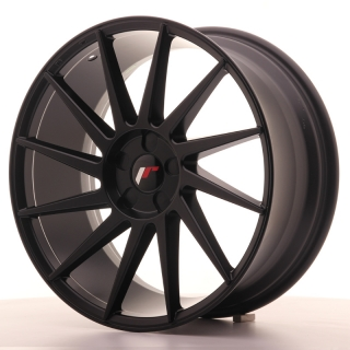 JR22 8,5x19 5H BLANK ET35-40 MATT BLACK