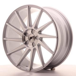 JR22 8,5x19 5x100 ET35-40 SILVER MACHINED