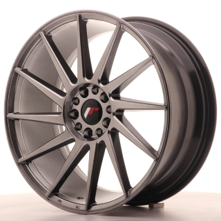 JR22 8,5x19 5x112/114,3 ET40 HYPER BLACK
