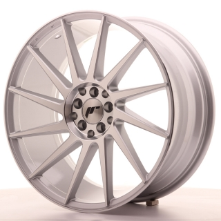 JR22 8,5x19 5x100/120 ET35 SILVER MACHINED