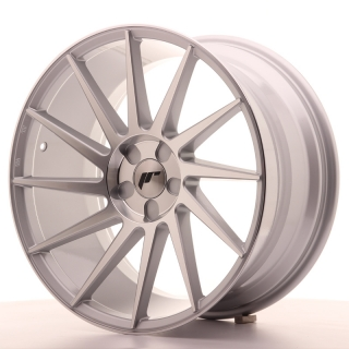 JR22 9,5x19 5x100 ET35-40 SILVER MACHINED