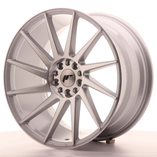 JR22 9,5x19 5x100/120 ET40 SILVER MACHINED