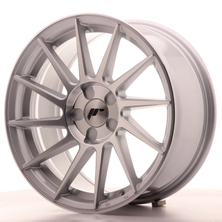 JR22 8x17 5x100 ET35 SILVER MACHINED