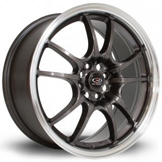 ROTA CIRCUIT 10 7,5x17 4x100 ET45 ROYAL GUNMETAL