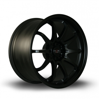 ROTA FIGHT 9,5x18 5x100/114,3 ET35 FLAT BLACK