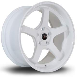 ROTA RT5 9,5x18 5x114,3 ET12 WHITE
