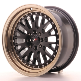 JR10 8x16 4x100/108 ET20 MATT BLACK BRONZE LIP