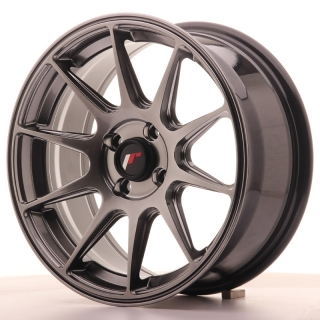 JR11 7x16 4x100 ET25 DARK HYPER BLACK