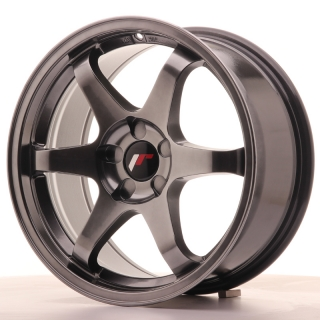 JR3 8x17 5x100 ET35 DARK HYPER BLACK