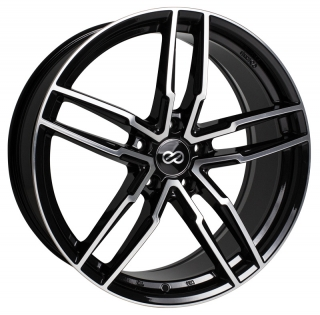 ENKEI SS05 8x18 5x114,3 ET38 BLACK MACHINED