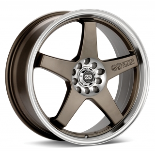 ENKEI EV5 7,5x18 5x100/114,3 ET45 MATT BRONZE MACHINED LIP