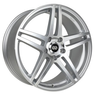 ENKEI RSF5 8x18 5x100 ET50 SILVER MACHINED