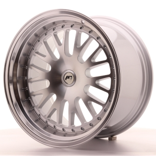 JR10 11x19 4x100 ET30 SILVER MACHINED