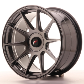 JR11 9x17 4x108 ET25-35 HYPER BLACK