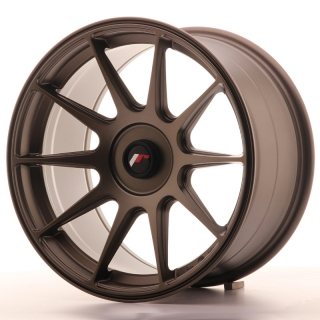 JR11 9x17 5x108 ET25-35 MATT BRONZE