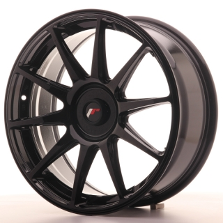 JR11 7,5x18 BLANK ET35-40 GLOSS BLACK