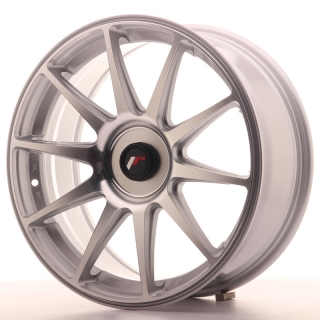 JR11 7,5x18 5x100 ET35-40 SILVER MACHINED