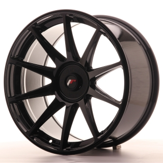 JR11 9,5x19 5x110 ET22-35 GLOSS BLACK