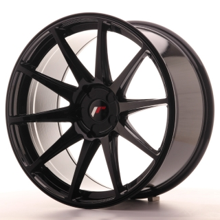 JR11 10x20 5x130 ET20-40 GLOSS BLACK
