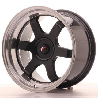 JR12 10x18 5x110 ET20-22 GLOSS BLACK
