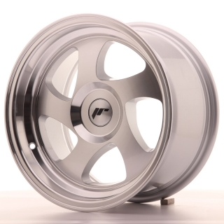 JR15 8x15 5x100 ET20 SILVER MACHINED
