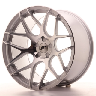 JR18 11x20 5x110 ET20-30 SILVER MACHINED