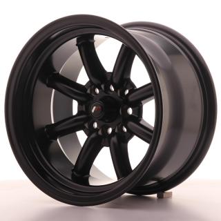 JR19 9x15 4x100 ET-13 MATT BLACK
