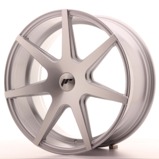 JR20 8,5x19 5x100 ET20-40 SILVER MACHINED