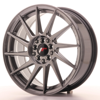 JR22 7x17 4x100/108 ET25 HYPER BLACK