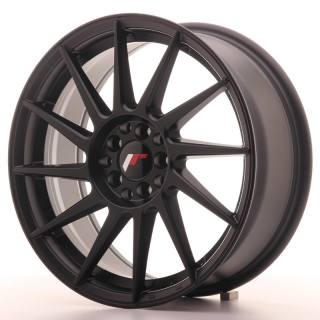 JR22 7x17 4x100/108 ET25 MATT BLACK
