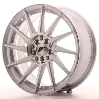 JR22 7x17 4x100/108 ET25 SILVER MACHINED