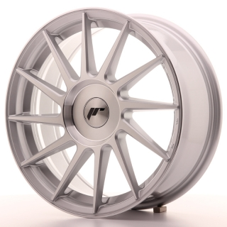 JR22 7x17 5x108 ET35-40 SILVER MACHINED
