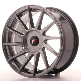 JR22 8x17 4x108 ET25-35 HYPER BLACK
