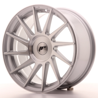 JR22 8x17 4x108 ET25-35 SILVER MACHINED