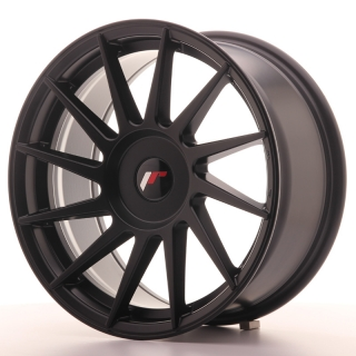 JR22 8x17 4x108 ET25-35 MATT BLACK