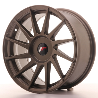JR22 8x17 5x108 ET25-35 MATT BRONZE