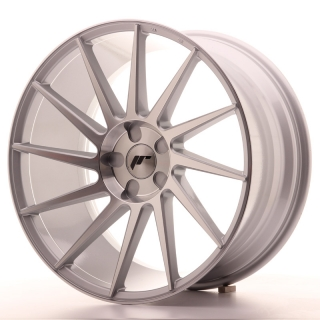 JR22 10x20 5x130 ET20-40 SILVER MACHINED