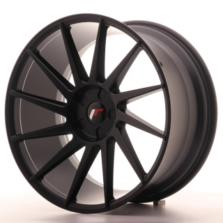 JR22 11x20 5x110 ET20-40 MATT BLACK